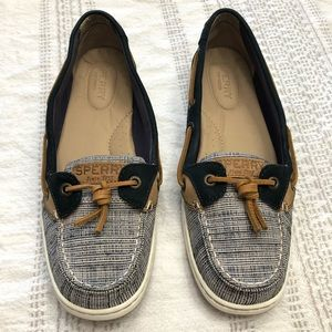 Sperry women's shoes size 7 1/2 navy blue